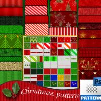 christmas pattern by roula33