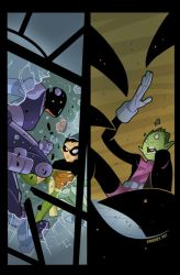 Teen Titans Go cover no. 22 by cheeks-74