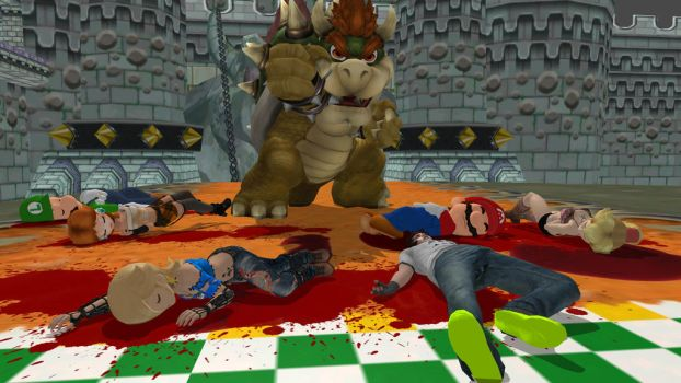 Bowser Par... no, Blood Party ! by FatalitySonic2