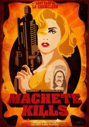 Machete Kills with Lady Gaga by Dawid-B
