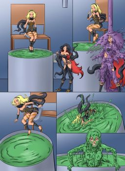 Gravity Rush Gunge Commission by TijuanaBibleScholar