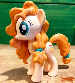 Mlp Figure-Pear Butter (For Sale at BABSCon!) by LostInTheTrees