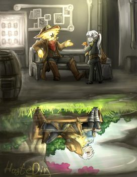 Starbound:The Beginning by HayteDiv