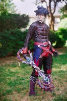 Vanitas Cosplay - Kingdom Hearts Birth by Sleep by NipahCos
