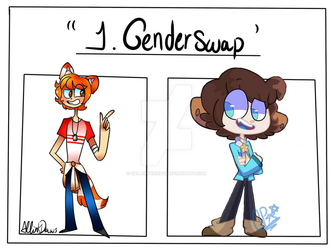 |COLLAB| Draw your OC in: Genderbend by GalaxyPixies45