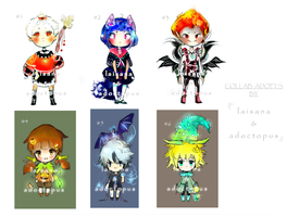 [OPEN 2/6] Halloween collab adopt by Laisana