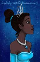 Disney: Tiana from Princess and the Frog by kimberly-castello