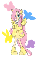 Fluttershy in her element by maialunatoffee