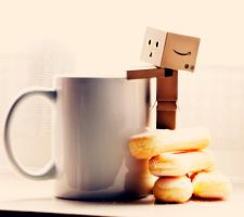 Danbo's Breakfast by magggg