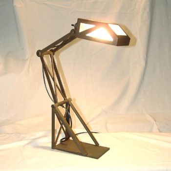 Man's Lamp by StutleyConstable