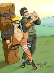 Naruto and Kiba/Tickle by MaysSantos