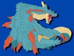 MH: Lagiacrus by MasamuneRevolution