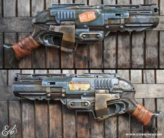 Nerf sledgefire bad ass by Ethis by Ethis-Crea