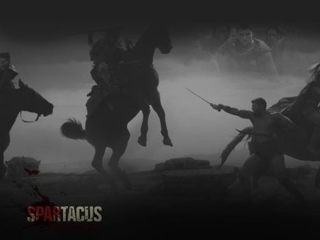 Spartacus Vengeance by ivelliospn