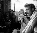 Marilyn Monroe and James Dean by Brailliant ver. 1
