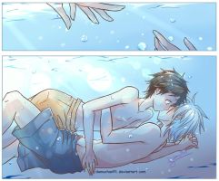 Swimming Together OneShot by DamuChan91