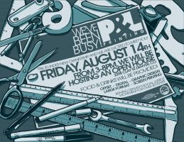 P and L Printing - flyer by scumbugg