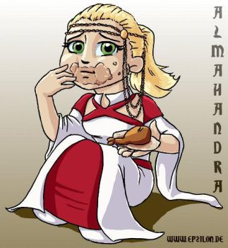 ConQuest Event Guide 2013: Almahandra by epzilon