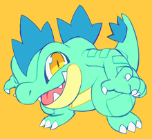 shiny feraligatr
