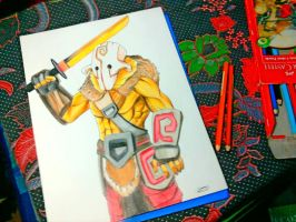 DOTA2 Juggernaut (far view) by JasonAvenger23