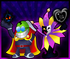 Fawful and Dimentio by Fawfulthegreat64