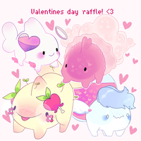 [closed] VDAY RAFFLE! by Sila--Chan