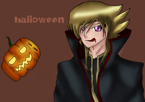 drawing of halloween by talibo