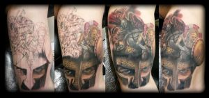 Spartan cover up by state-of-art-tattoo
