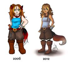2006 vs 2012 by xelanelho