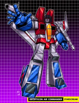 Starscream g1 by Shayeragal