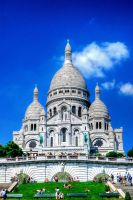Sacre Couer Basilica by bianco-c