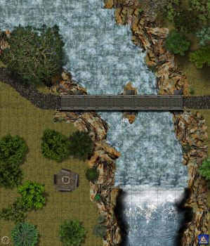 bridge encounter map-Grid bg by Bogie-DJ