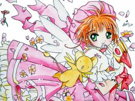 Card Captor Sakura by IKrystalDrawing