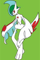 Mega Gallade by RikoriStorm