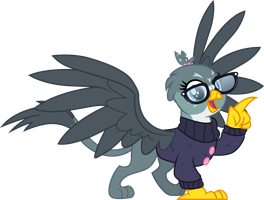 Gabby the bookworm by CloudyGlow