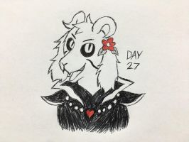 Inktober Day 27 by Revenir-Ghoul