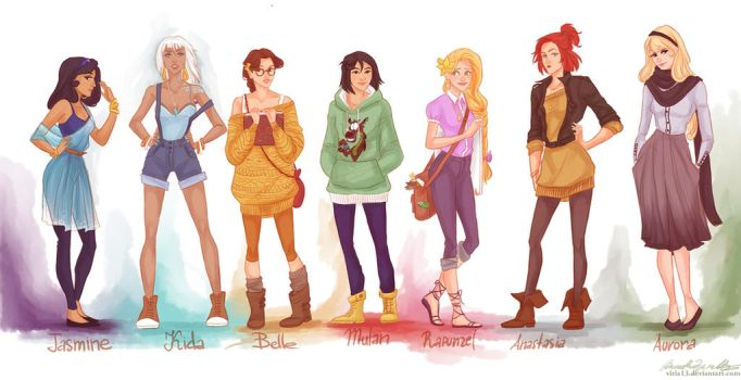fashion princesses P2 by viria13