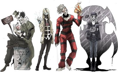 The First Four by TheWickedWordsmith