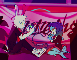 kids these days by psychic-beings