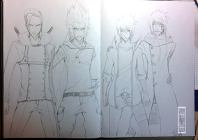 Characters - Sketch by IFrAgMenTIx