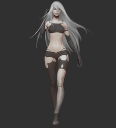 YoRHa Type A No.2 by ToshiTNE