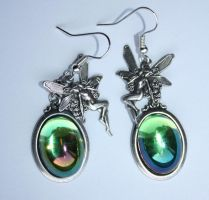 Fairy of Absitnhe earrings by Pinkabsinthe