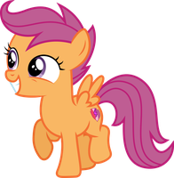 [Vector] Scootaloo #2 by DerAtrox