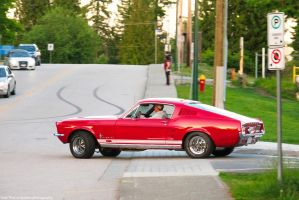 Mustang Fastback by SeanTheCarSpotter