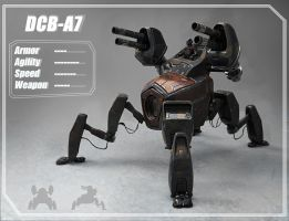 DCB-A7 concept mech by LMorse