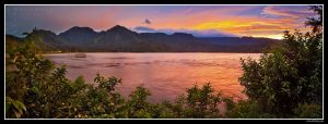 Hanalei Bay Sunset by aFeinPhoto-com