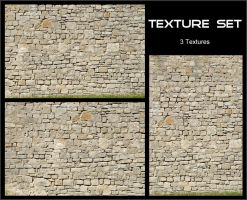 Texture Set - Stone Wall by AGF81