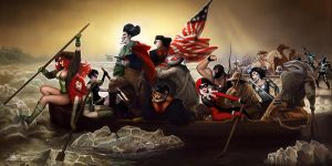 Suicide Squad-Crossing-the-Delaware by Nszerdy