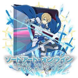 Sword Art Online - Alicization V2 Folder Icon by Kiddblaster