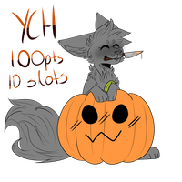 Pumpkin Ych [CLOSED] by KeuAdopts